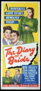 THE DIARY OF A BRIDE Original Daybill Movie Poster I Jane Doe