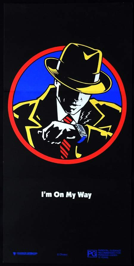DICK TRACY Original Daybill Movie Poster Warren Beatty I'm On My Way