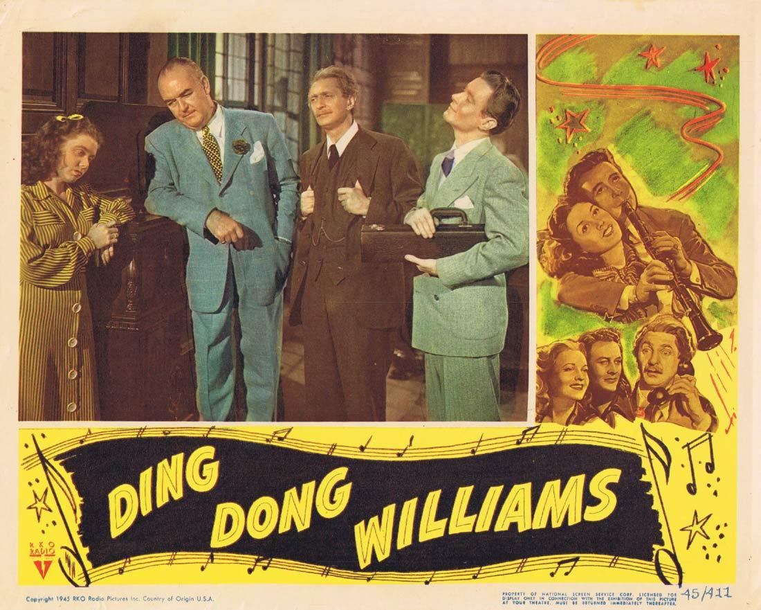 DING DONG WILLIAMS Lobby Card 2 Glen Vernon Marcy McGuire Felix Bressart