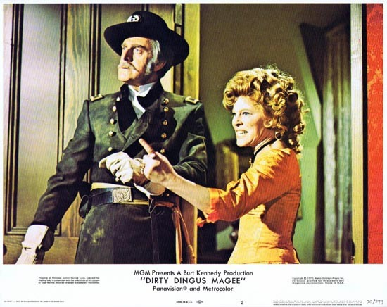 DIRTY DINGUS MAGEE US Lobby card 2 Frank Sinatra