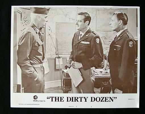 THE DIRTY DOZEN 1975 Lee Marvin Lobby card 7