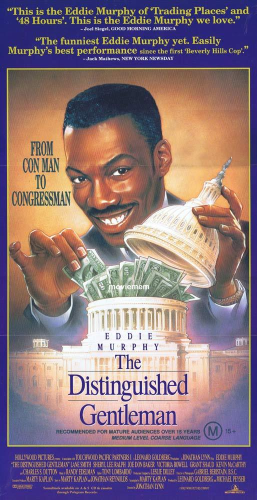 THE DISTINGUISHED GENTLEMAN Original Daybill Movie poster Eddie Murphy