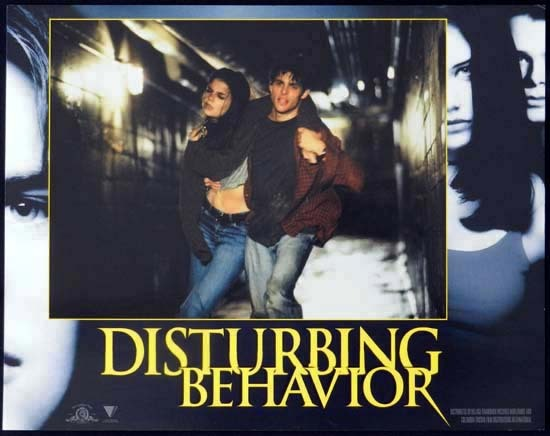 DISTURBING BEHAVIOUR 1998 Katie Holmes Lobby Card 1