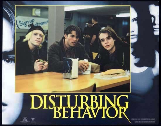 DISTURBING BEHAVIOUR 1998 Katie Holmes Lobby Card 3