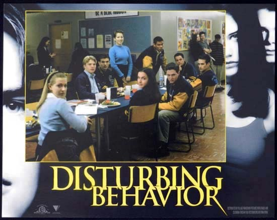 DISTURBING BEHAVIOUR 1998 Katie Holmes Lobby Card 4