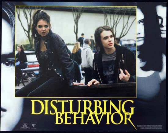 DISTURBING BEHAVIOUR 1998 Katie Holmes Lobby Card 5