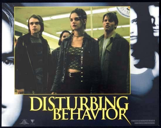 DISTURBING BEHAVIOUR 1998 Katie Holmes Lobby Card 7