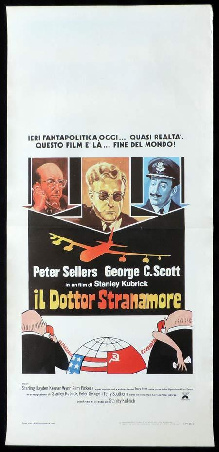 DR STRANGELOVE Italian Locandina Movie Poster Peter Sellers
