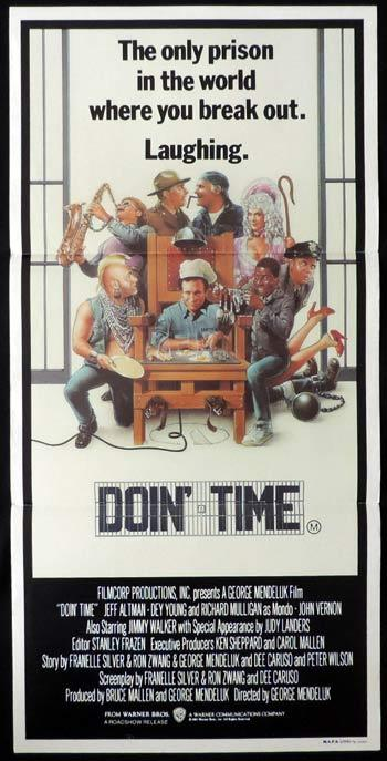 DOIN TIME Daybill Movie poster Richard Mulligan