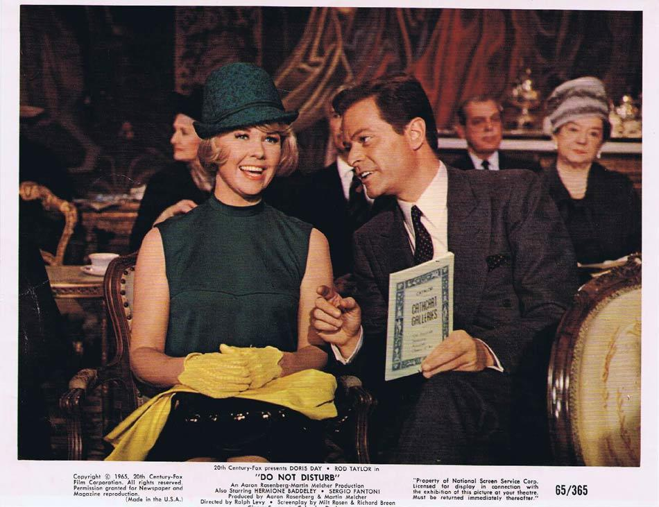 DO NOT DISTURB Vintage Colour Movie Still 11 Doris Day Rod Taylor