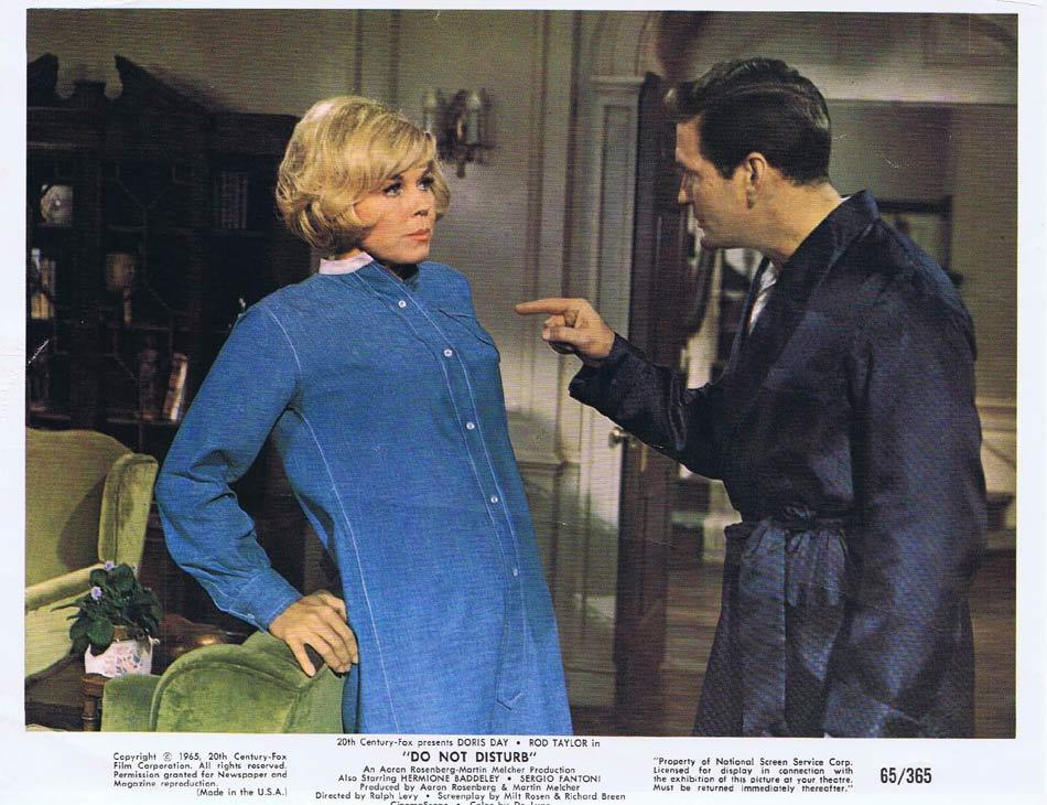 DO NOT DISTURB Vintage Colour Movie Still 3 Doris Day Rod Taylor