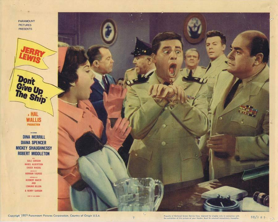 DON'T GIVE UP THE SHIP Lobby Card 7 Jerry Lewis