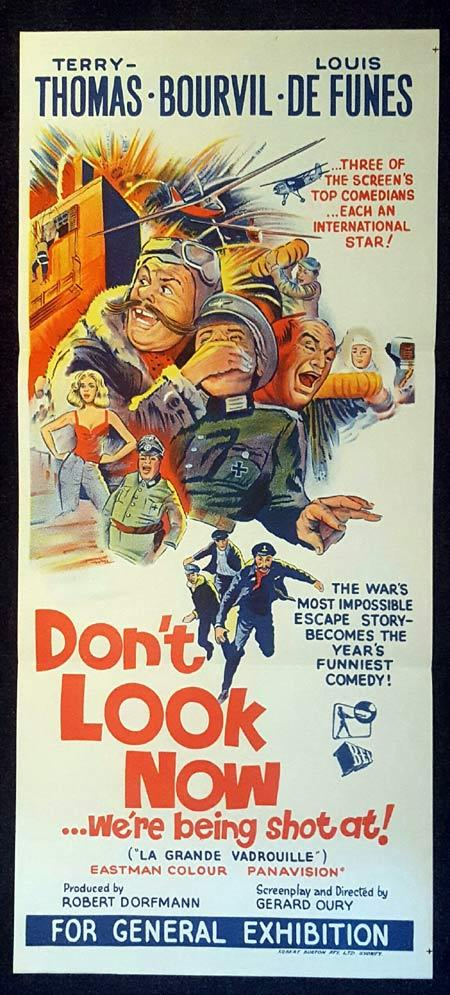 DONT LOOK NOW... WHERE BEING SHOT AT Daybill Movie poster La Grande Vadrouille