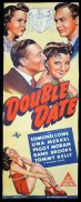 DOUBLE DATE Long Daybill Movie poster Edmond Lowe Una Merkel
