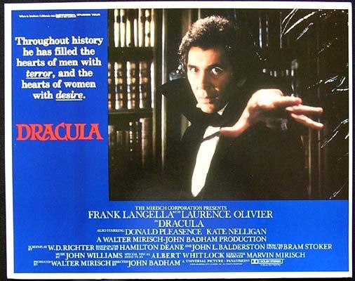 DRACULA Lobby Card 2 Frank Langella Laurence Olivier Donald Pleasence
