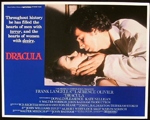DRACULA Lobby Card 4 Frank Langella Laurence Olivier Donald Pleasence