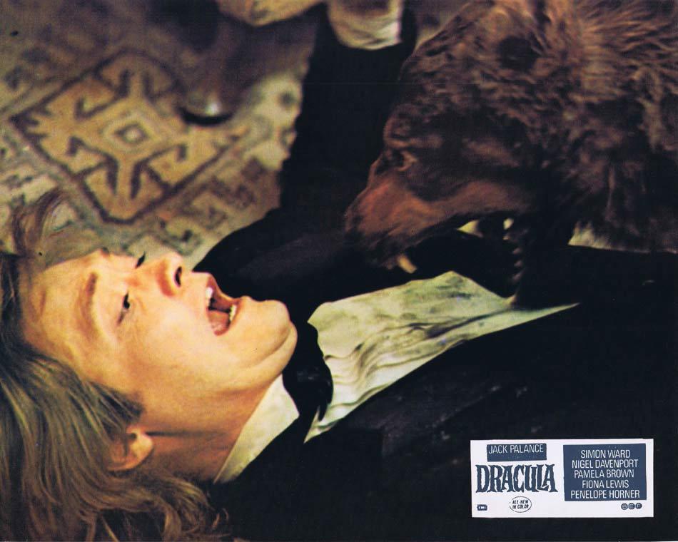 DRACULA Lobby Card 3 1974 Jack Palance