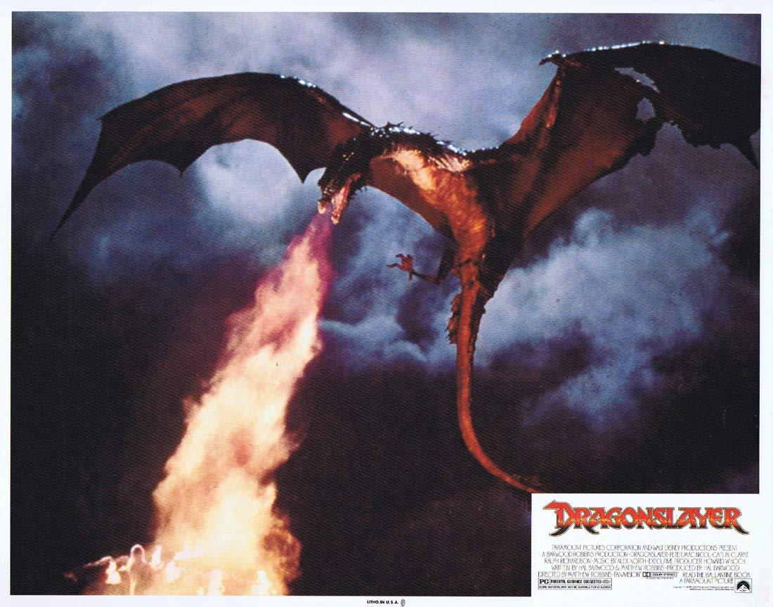 DRAGONSLAYER Vintage Lobby Card 8 Peter MacNicol Caitlin Clarke