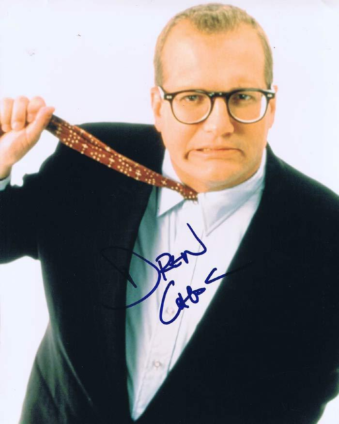 DREW CAREY Autograph 8 x 10 Photo