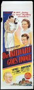 DR KILDARE GOES HOME Long Daybill Movie poster 1940 Lionel Barrymore