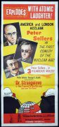 DR STRANGELOVE Original daybill Movie Poster Peter Sellers NZ