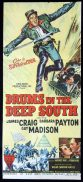 DRUMS IN THE DEEP SOUTH Original Daybill Movie poster