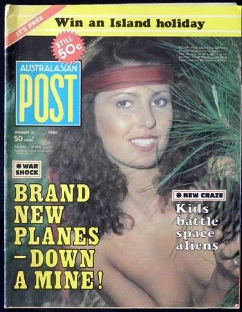 Australasian Post Magazine Aug 21 1980 Kids Battle Space Aliens