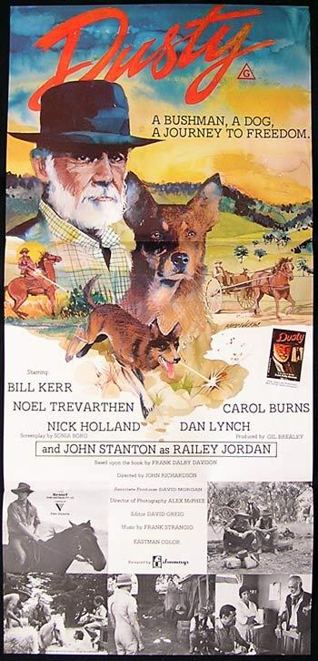 DUSTY Daybill Movie Poster 1983 Bill Kerr