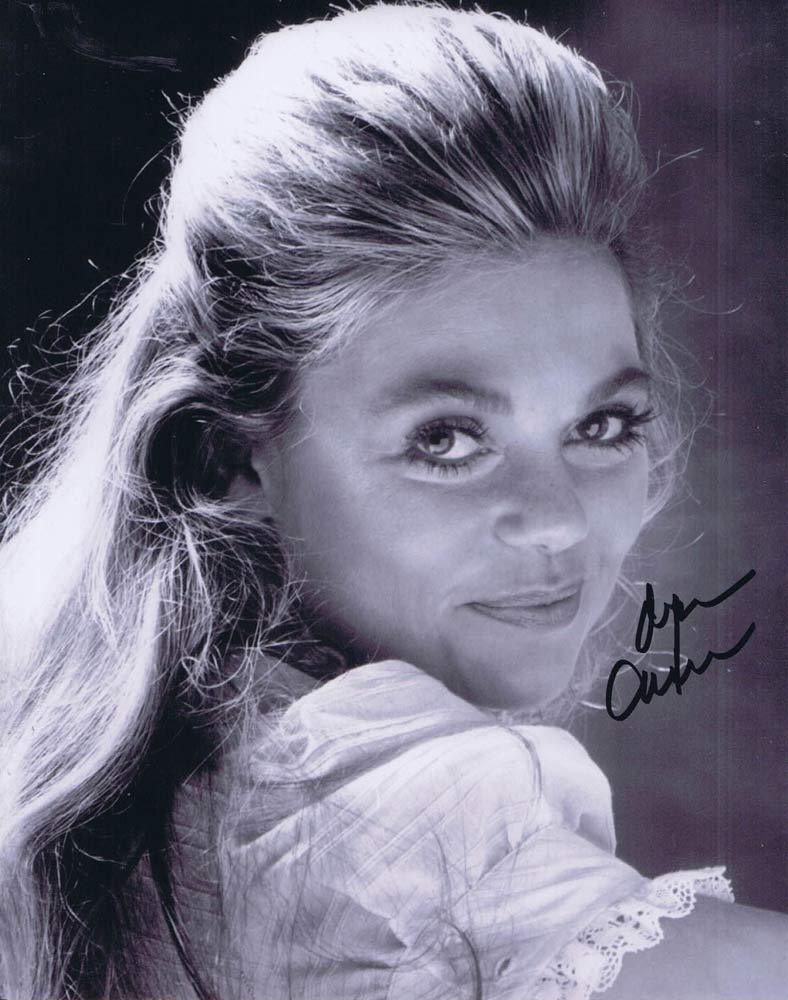 DYAN CANNON Autographed Black and White photo 4