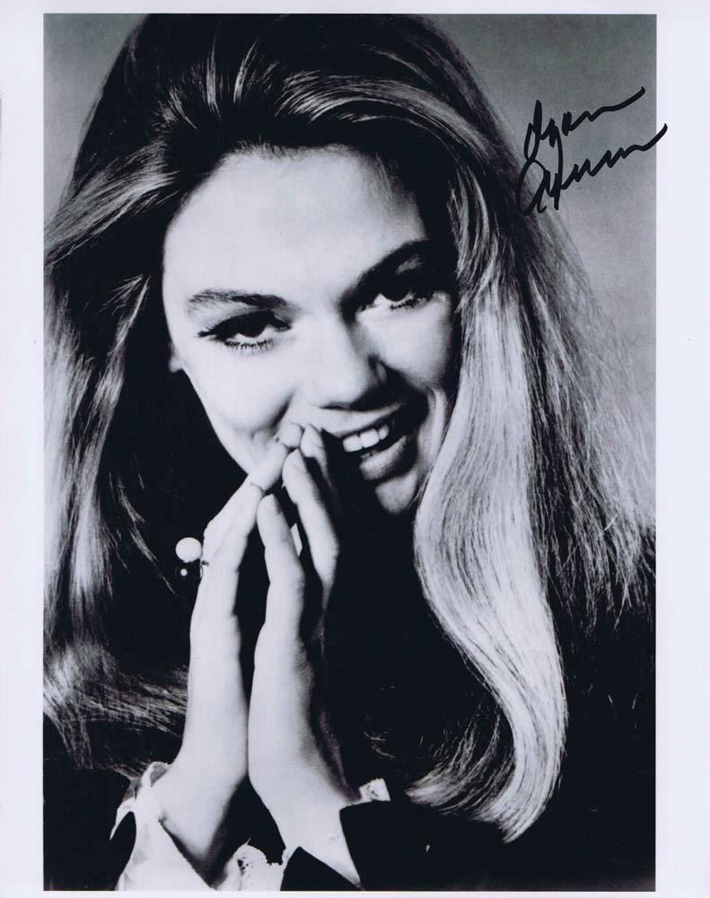DYAN CANNON Autographed Black and White photo