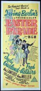 EASTER PARADE Original daybill Movie Poster Judy Garland Fred Astaire