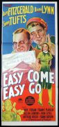 EASY COME EASY GO Original Daybill Movie Poster Barry Fitzgerald Diana Lynn Richardson Studio