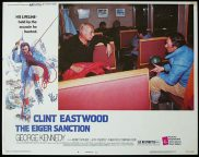 THE EIGER SANCTION 1975 Clint Eastwood Lobby Card 4