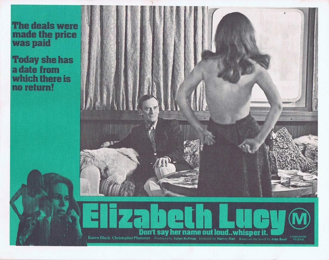 ELIZABETH LUCY aka The Pyx Original Lobby Card 1 Karen Black Christopher Plummer
