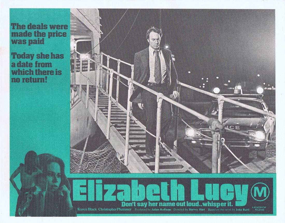 ELIZABETH LUCY aka The Pyx Original Lobby Card 5 Karen Black Christopher Plummer