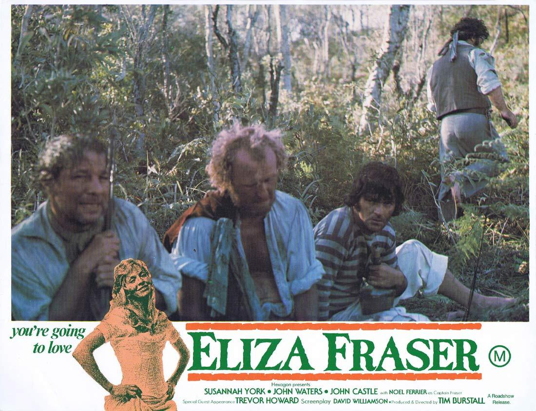 ELIZA FRASER Original Lobby Card 2 Susannah York John Waters