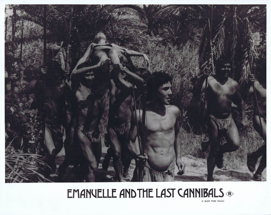 EMANUELLE AND THE LAST CANNIBALS Lobby card 2 Laura Gemser