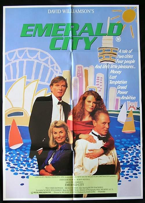 EMERALD CITY '88 David Williamson SYDNEY OPERA HOUSE 1sheet poster