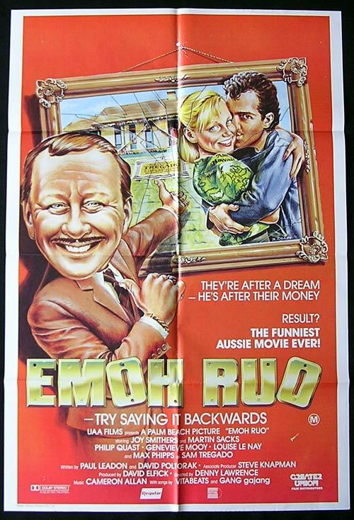 EMOH RUO '85 Joy Smithers AUSTRALIAN CINEMA 1 sheet movie poster