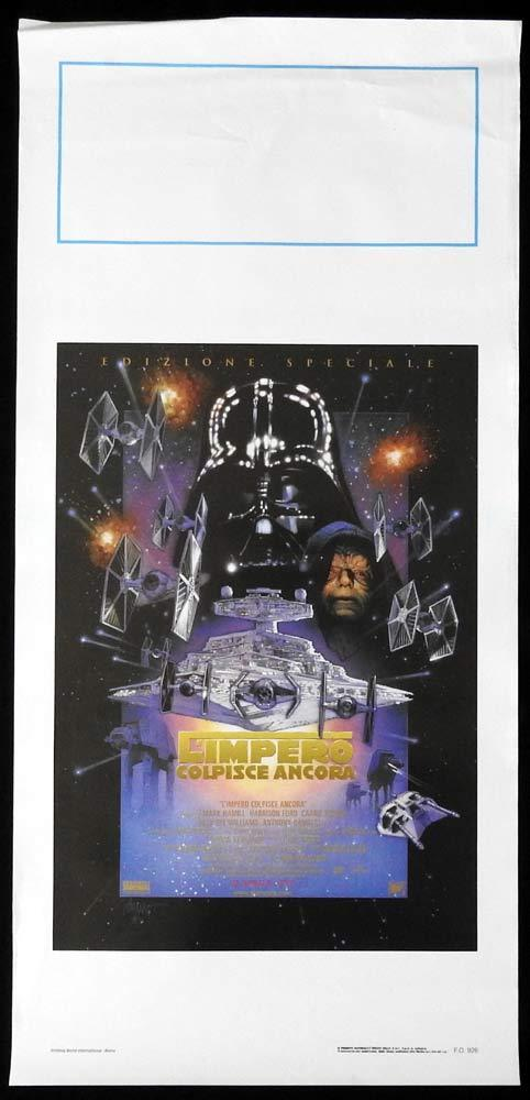 THE EMPIRE STRIKES BACK SPECIAL EDITION 1997 Original Locandina Movie Poster
