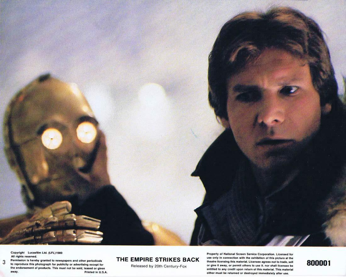 THE EMPIRE STRIKES BACK Star Wars Original 8 x 10 Lobby Card 3