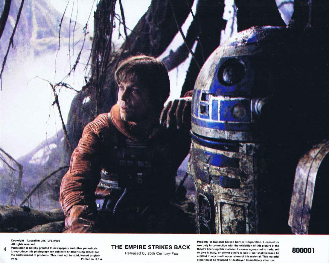 THE EMPIRE STRIKES BACK Star Wars Original 8 x 10 Lobby Card 4