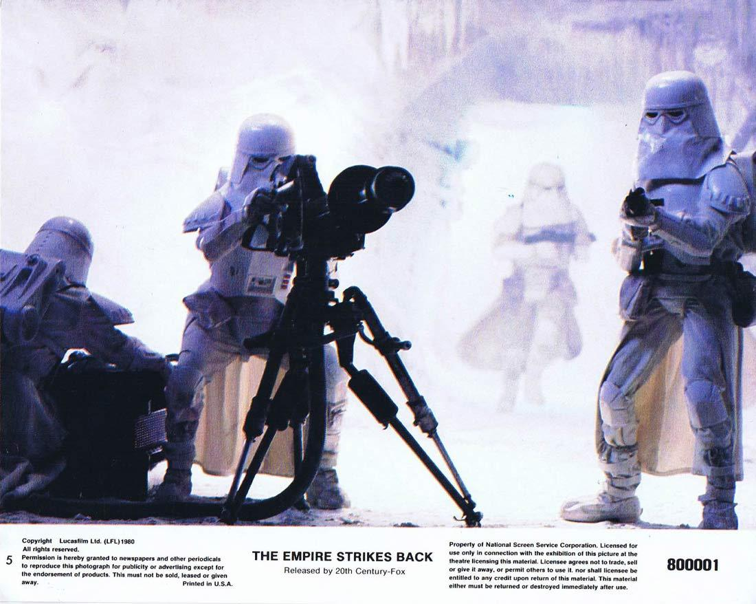 THE EMPIRE STRIKES BACK Star Wars Original 8 x 10 Lobby Card 5