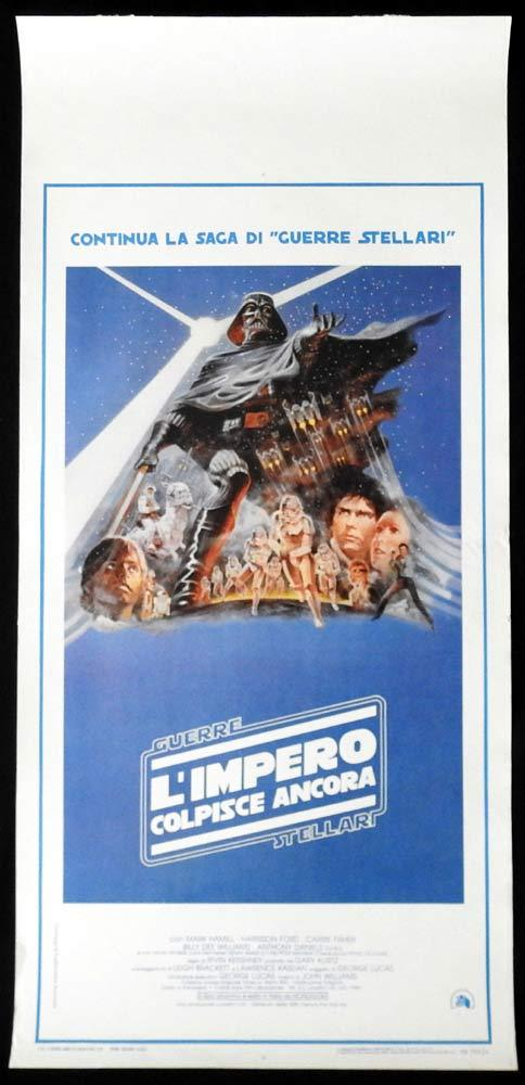 THE EMPIRE STRIKES BACK Original Locandina Movie Poster