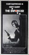 THE ENFORCER Original 3 Sheet Movie Poster RAF Cliff Robertson