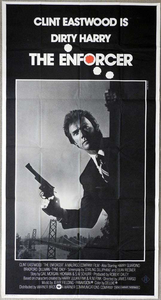 THE ENFORCER Original 3 Sheet Movie Poster RAF Cliff Robertson