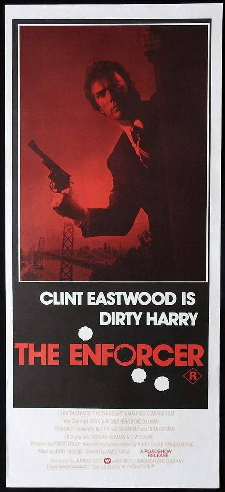 THE ENFORCER Original Daybill Movie poster Clint Eastwood as Dirty Harry