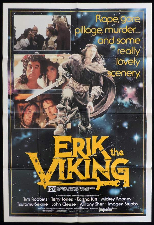 ERIK THE VIKING One Sheet Movie Poster John Cleese