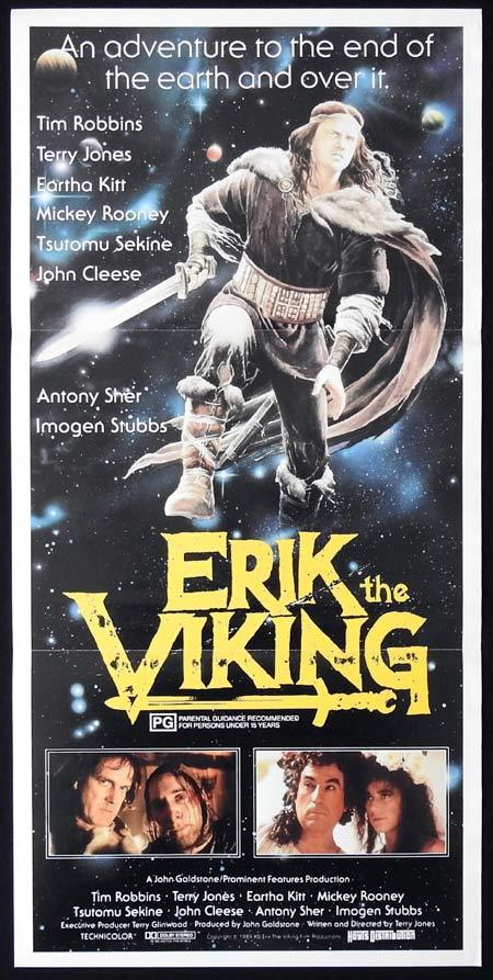 ERIK THE VIKING Original Daybill Movie Poster Terry Jones