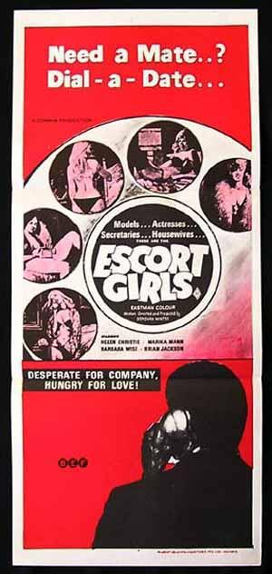ESCORT GIRLS-Helen Christie-SEXPLOITATION daybill